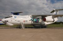 The new powerplant was originally intended for a different Ilyushin model