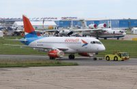 Azimuth Airlines has signed letters of intent for eight more Superjets in addition to the eight on firm order