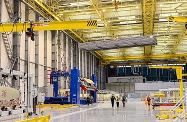 Aviastar-SP manufactures the MC-21's fuselage, doors, and empennage