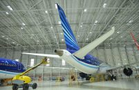 Silk Way Technics provides maintenance services on a wide range of Western-built airliner types