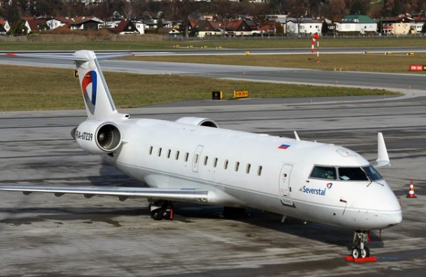 Severstal to replace Bombardier CRJs with Russian regional jets