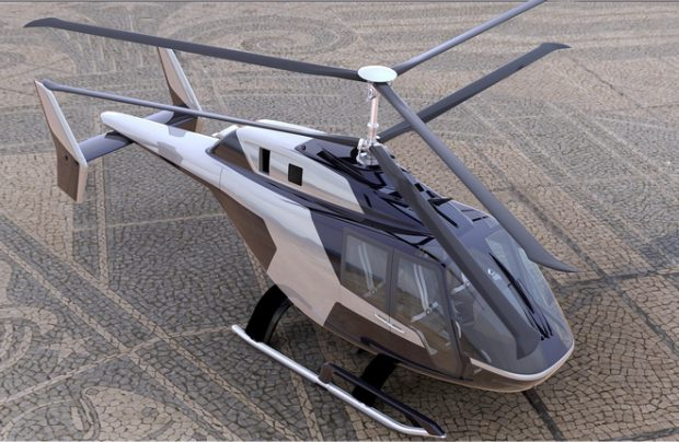 Russian Helicopters' VRT500 prototype