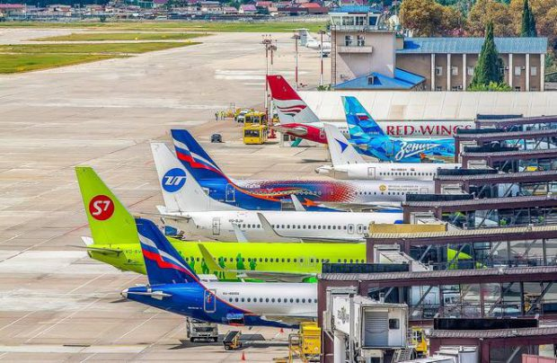 Russian airlines traffic July 2020