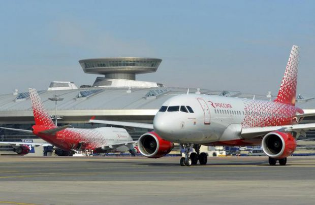 Rossiya Airlines Russian-made jets